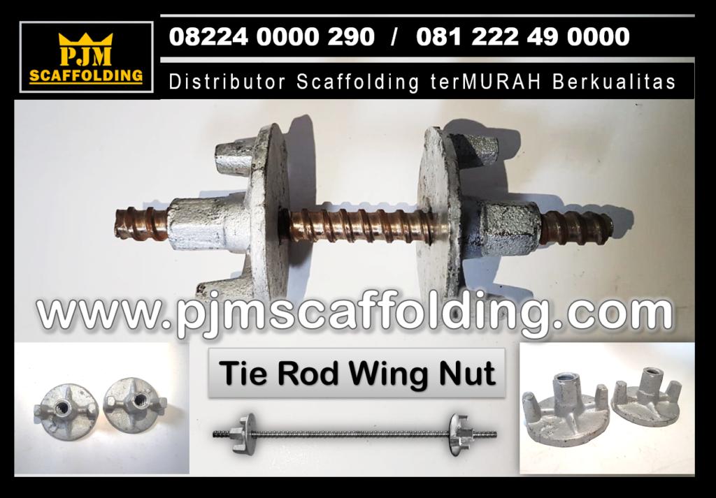 Jual Tie Rod Wing Nut Scaffolding, Tie Rod Bekisting Bandung, Jual Tie Rod Scaffolding, Jual Wing Nut Scaffolding Bandung, Jual Scaffolding Bandung, Jual Scaffolding Surabaya, Jual Scaffolding Malang